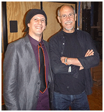 Dave Smith and Dr Blankenstein (Drew Blanke) at Moogfest 2014