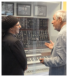 Herb Deutsch Hofstra University Moog Synth w/ Drew Blanke