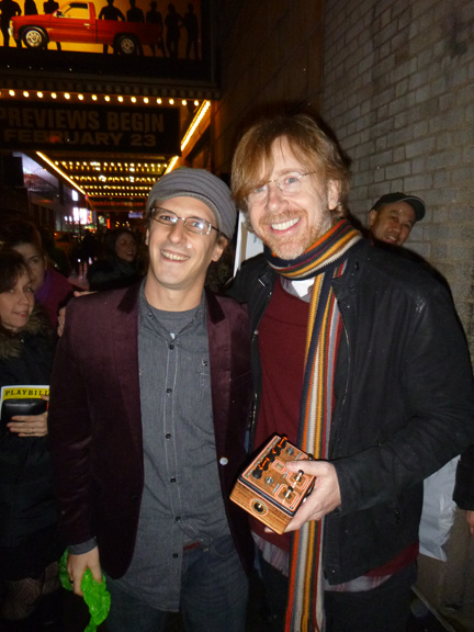 Trey Anastasio and Dr. Blankenstein at the Premiere of Hand on a Hardbody NYC